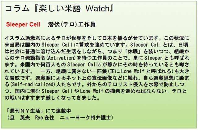 コラム米語Watch 1-30-15
